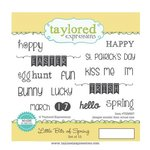 Taylored Expressions - Cling Stamp - Little Bits Of Spring