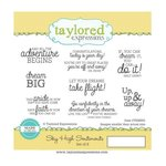 Taylored Expressions - Cling Stamp - Sky High Sentiments