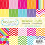 Taylored Expressions - 6 x 6 Paper Pad - Rainbow Brights