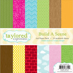 Taylored Expressions - 6 x 6 Paper Pad - Build A Scene