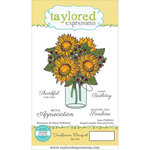 Taylored Expressions - Cling Stamp - Sunflower Bouquet