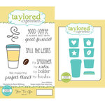 Taylored Expressions - Cling Stamp and Die Set - Joe To-Go