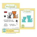 Taylored Expressions - Cling Stamp and Die Set - Max and Muffin