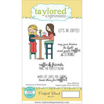 Taylored Expressions - Cling Stamp - Perfect Blend
