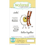 Taylored Expressions - Cling Stamp - Perfect Pairs - Eggs and Bacon