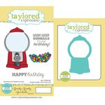 Taylored Expressions - Cling Stamp and Die Set - Goody Goody Gumballs