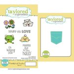 Taylored Expressions - Cling Stamp and Die Set - Pocketful Of Sunshine