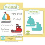 Taylored Expressions - Cling Stamp and Die Set - Ships Ahoy