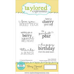 Taylored Expressions - Cling Stamp - Berry Special