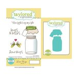 Taylored Expressions - Cling Stamp and Die Set - Love Bugs