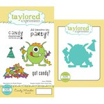 Taylored Expressions - Cling Stamp and Die Set - Candy Monster