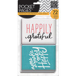 Me and My Big Ideas - Pocket Pages - Themed Cards - 3 x 4 - I Love Life