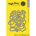 Waffle Flower Crafts - Craft Die - Willy and Friends