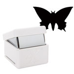 DoCrafts - Xcut - Large Palm Punch - Pointed Butterfly - 1 Inch