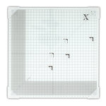 DoCrafts - Xcut - 13 x 13 Inch Tempered Glass Cutting Mat
