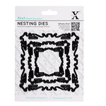 DoCrafts - Xcut - Nesting Dies - Ornate Frame - Squiggle