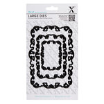 DoCrafts - Xcut - Nesting Dies - Large - Ornate Frame - Squiggle