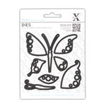 DoCrafts - Xcut - Decorative Dies - Butterflies