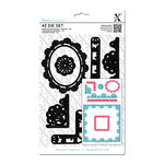 DoCrafts - Xcut - A5 Die Set - Sew Lovely Trim Borders
