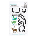 DoCrafts - Xcut - Decorative Dies - Large - Christmas In The Country Stag
