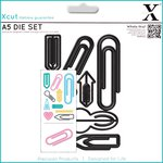 Docrafts - Xcut - Decorative Dies Large - Paper Clips