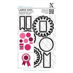 Docrafts - Xcut - Decorative Dies Large - Mixed Rosettes