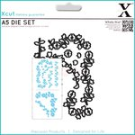 Docrafts - Xcut - A5 Die Set - Floral Borders
