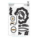 Docrafts - Xcut - A5 Die Set - Leaf Borders