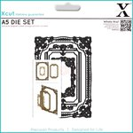 Docrafts - Xcut - A5 Die Set - Ornate Frames Square
