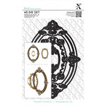 Docrafts - Xcut - A5 Die Set - Ornate Frames Oval