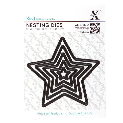 DoCrafts - Xcut - Nesting Dies - Stars