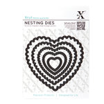 DoCrafts - Xcut - Nesting Dies - Scalloped Heart