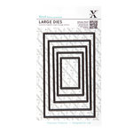 DoCrafts - Xcut - Nesting Dies - Large - Rectangle