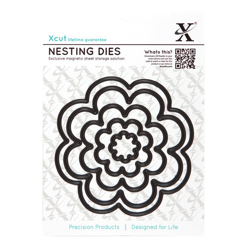 DoCrafts - Xcut - Nesting Dies - Bloom