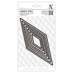 DoCrafts - Xcut - Nesting Dies - Large - Diamonds