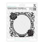 DoCrafts - Xcut Universal 6 x 6 Embossing Folder - Rose Frame