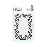 Docrafts - Xcut - A6 Embossing Folder - Foliage Frame