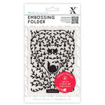 DoCrafts - Xcut Universal A6 Embossing Folder - 12 Days Of Christmas Tree