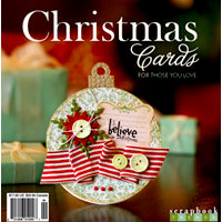 Scrapbook Trends Magazine - Christmas Cards Idea Book, BRAND NEW