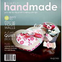 Simply Handmade Magazine - August September 2009