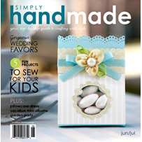 Simply Handmade Magazine - June July 2009, CLEARANCE