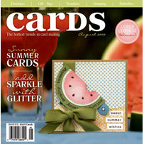 Cards Magazine - The Hottest Trends in Card Making - August 2009, CLEARANCE