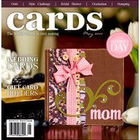Cards Magazine - The Hottest Trends in Card Making - May 2009, CLEARANCE