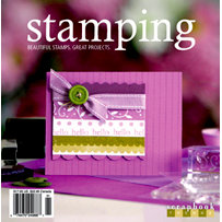 Scrapbook Trends Magazine - Stamping Idea Book, CLEARANCE