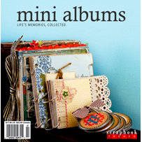 Scrapbook Trends Magazine - Mini Albums Idea Book