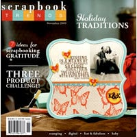 Scrapbook Trends Magazine - November 2009, CLEARANCE