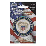 Pioneer - Self Adhesive Metal Medallion - Navy