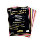 Pioneer - EZ Load Memory Mounting Paper - 8.5 x 11 - Assorted