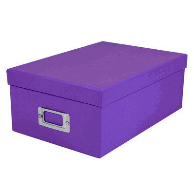 Pioneer - Photo Video Box - Bright Purple