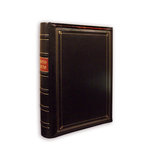 Pioneer - 3-Up Bonded Leather Album 3 Ring - 204 Pockets - Black